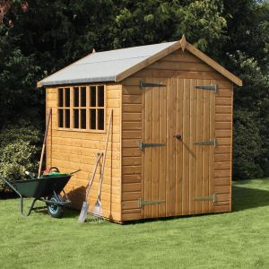 12' x 8' (3.66x2.44m) Traditional Heavy Apex Shed