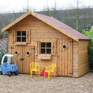 5' x 10' (1.51x3.05m) Traditional Play Station Playhouse