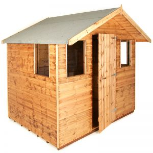 8' x 6' (2.44x1.83m) Traditional 6' Cabin Shed