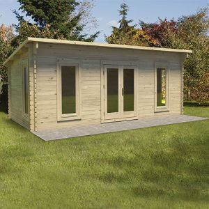 Forest Arley 6m x 3m Log Cabin (45mm)