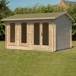 Forest Chiltern 4m x 3m Log Cabin (34mm)