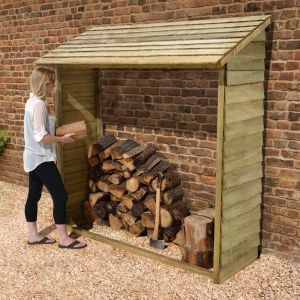 5'9 x 2' (1.75x0.6m) Store-Plus Large Wall Log Store