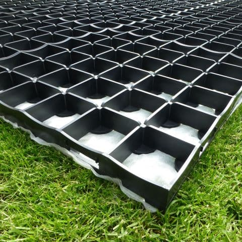 5.5 x 4m Log Cabin Base Kit - 88 Squares