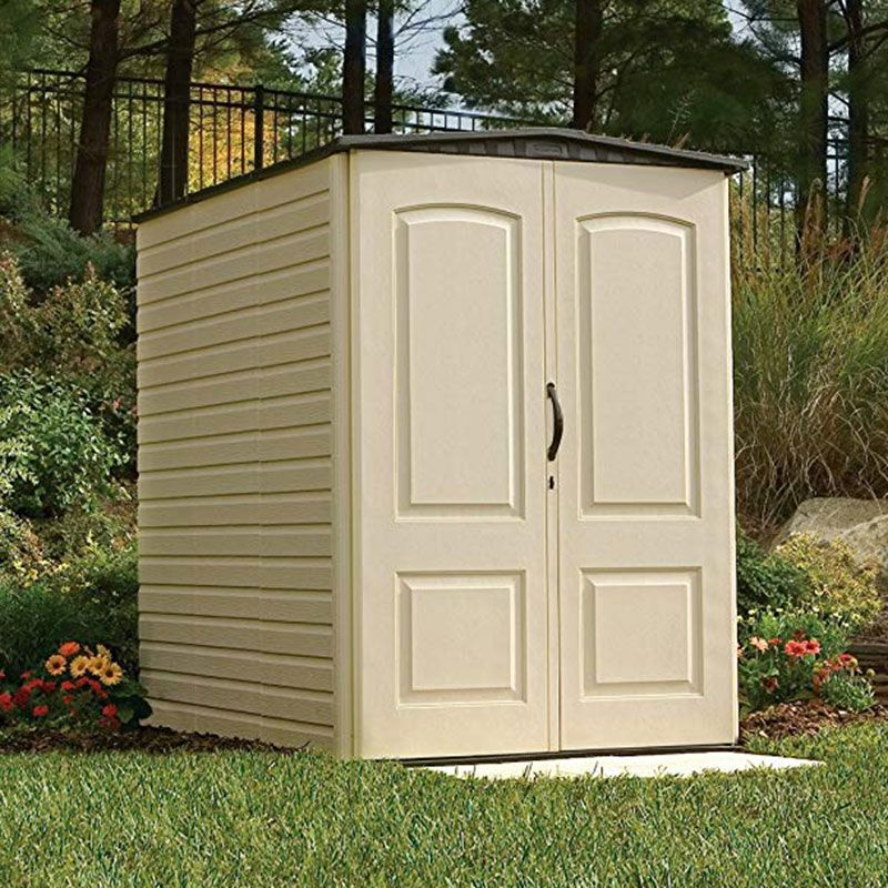 4'7 x 6'4 Rubbermaid Premium Vertical Plastic Shed (1.44m x 1.96m)
