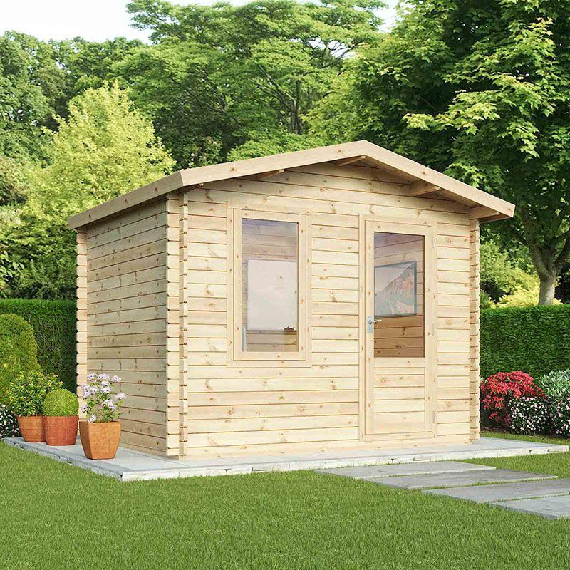 3x2.5m Log Cabin Base Kit