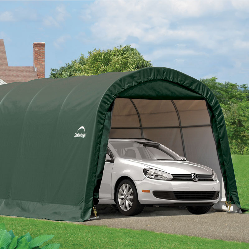 10x20 Rowlinson Round Top Portable Car Garage / Shelter