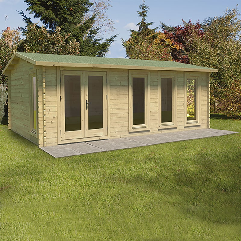 13'1x19'6 (4x6m) Pro Shed Base Kit - 96 Squares