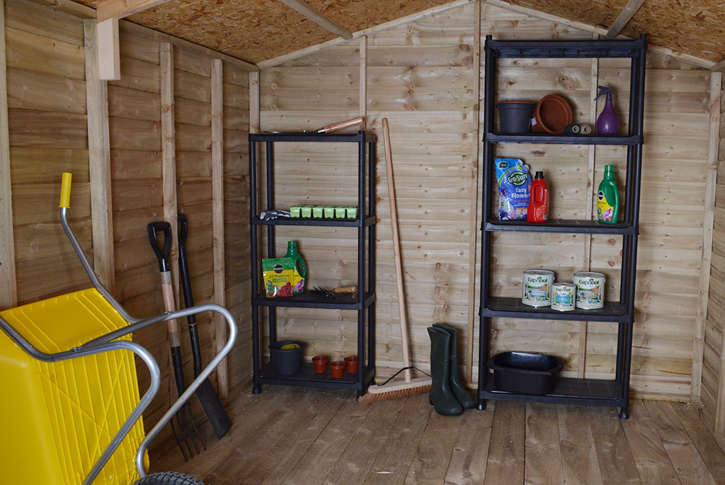 How to turn your shed into the perfect storage space