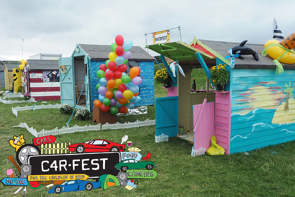 Shedstore supports CarFest 2016