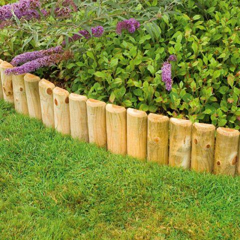 Forest 6 inch Border Roll - garden edging
