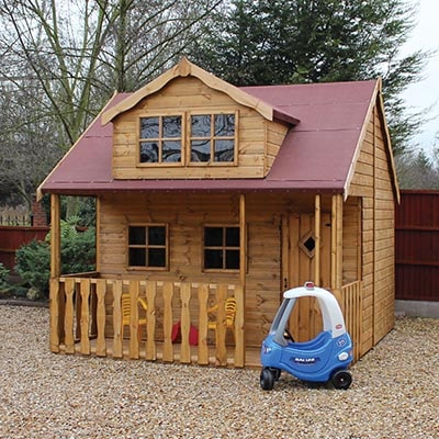10x10 Traditional Swiss Cottage Playhouse