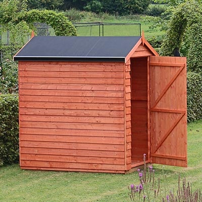 Shed with SkyGuard EDM Membrane Roof