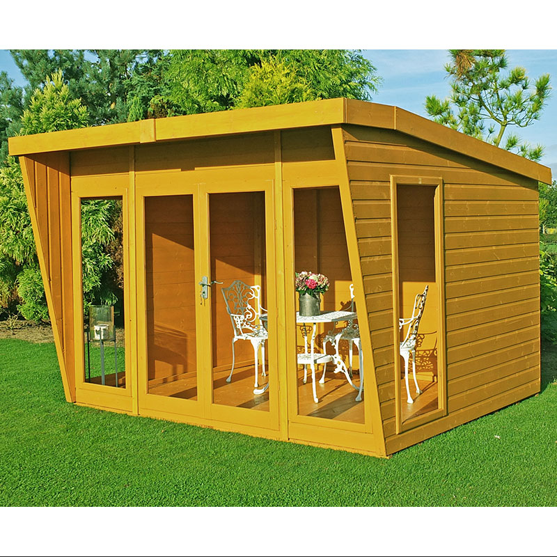 Image of 10x10 Shire Highclere Contemporary Wooden Summerhouse