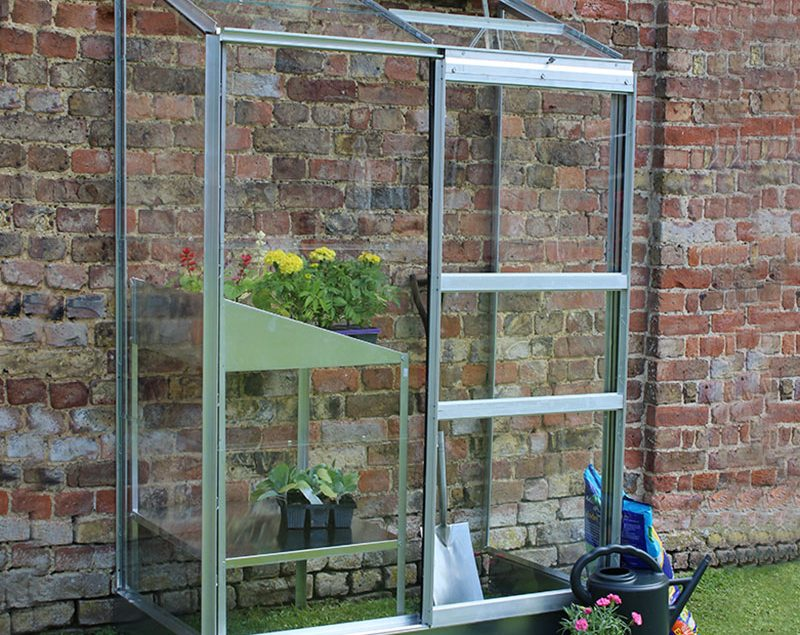 What are the benefits of a lean to greenhouse?