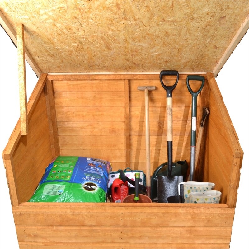 The benefits of using a garden storage box