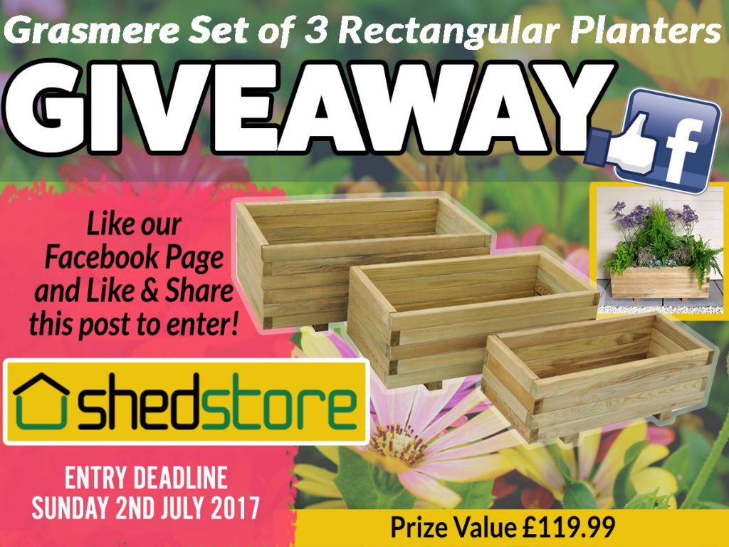 Grasmere Set of 3 Planter Summer Giveaway