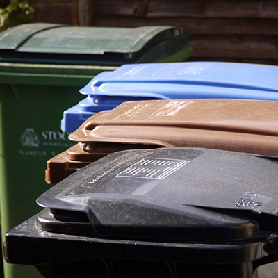 How to build a wheelie bin shed