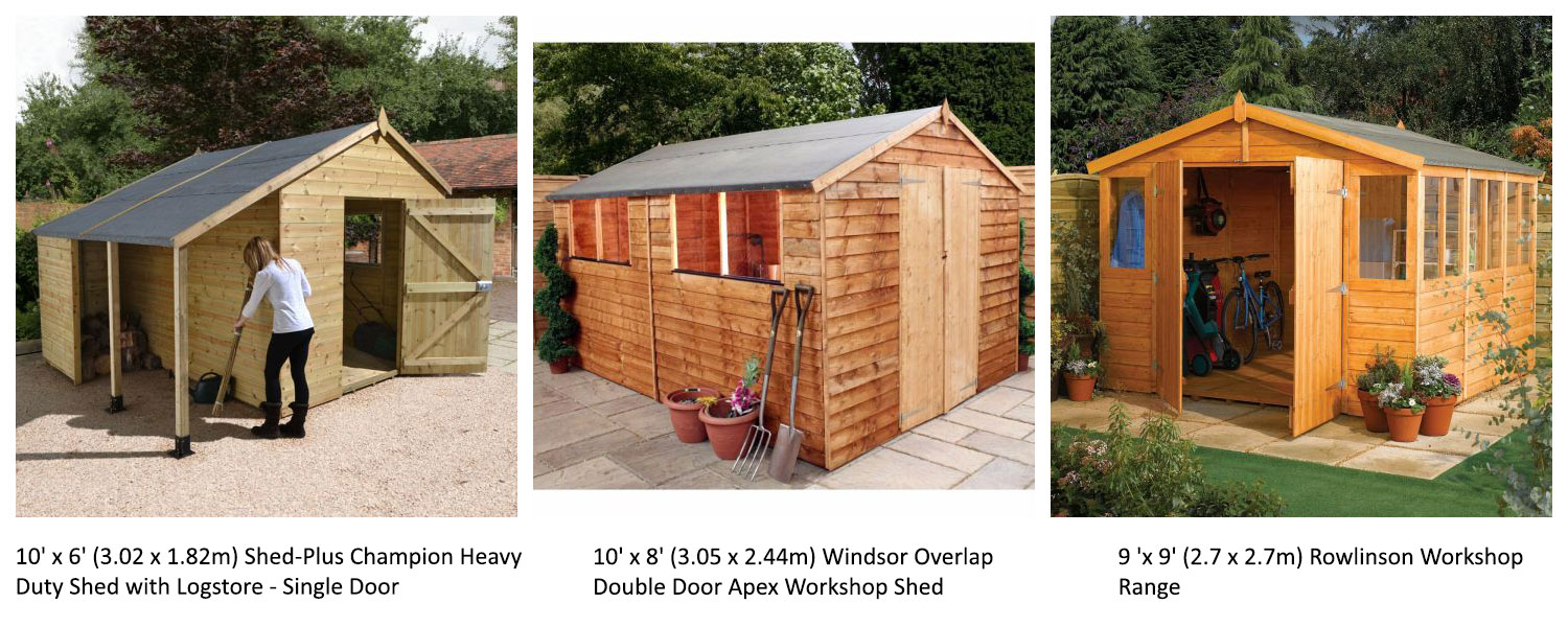 A selection of our garden workshops