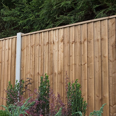 6ft Forest Pressure Treated Featheredge Panel