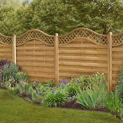 Paloma Screen Fencing Panel