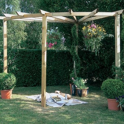 Forest Radial Pergola Kit