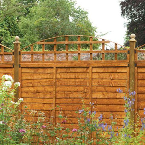 1.8m Convex Trellis Fence Topper