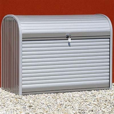 4x2 Biohort Storemax 120 Metal Garden Storage Unit