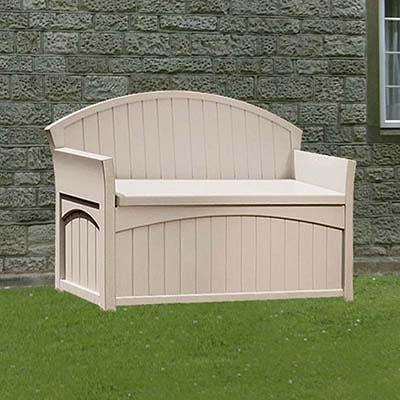 Suncast Resin Garden Storage Bench