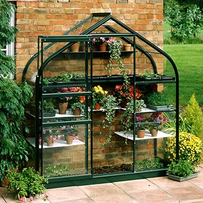 6x2 Halls Wall Garden 62 Greenhouse