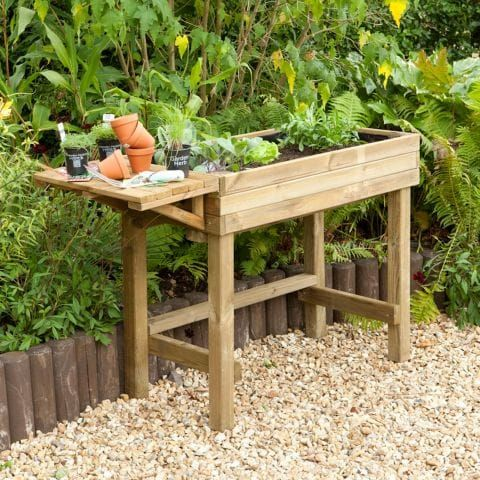 Forest Garden Trough Potting Table from Shedstore