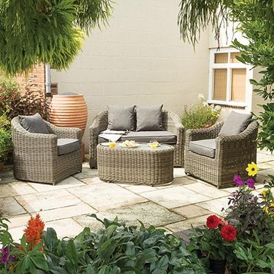 Rowlinson Bunbury Garden Sofa Set
