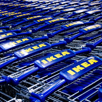 Ikea trollies