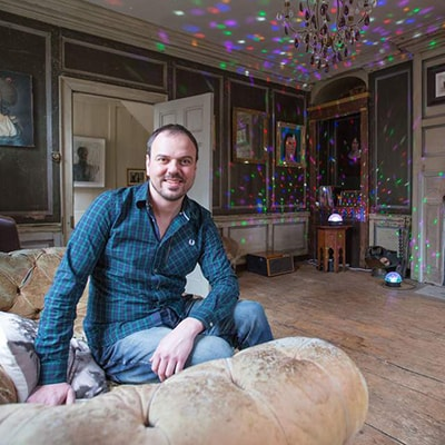Rupert Hunt founder of Spare Room