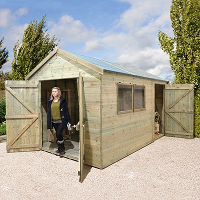 Forest Champion Heavy Duty Combination Shed