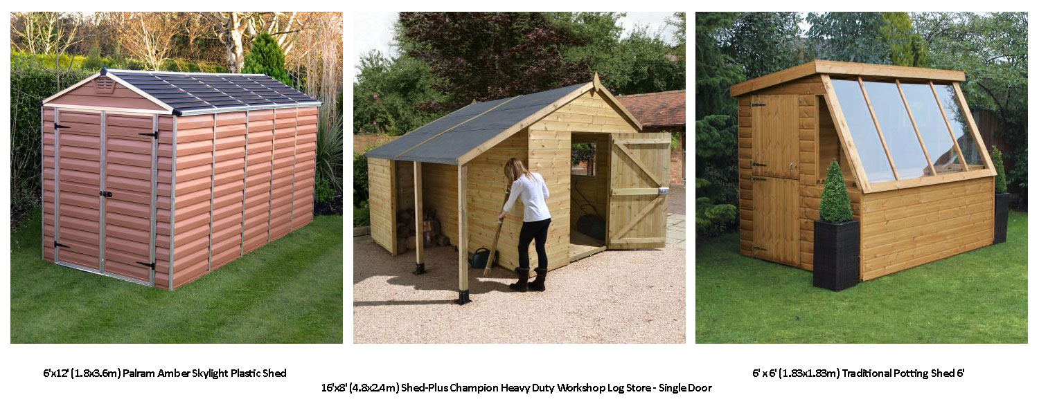 Top uses for a garden shed