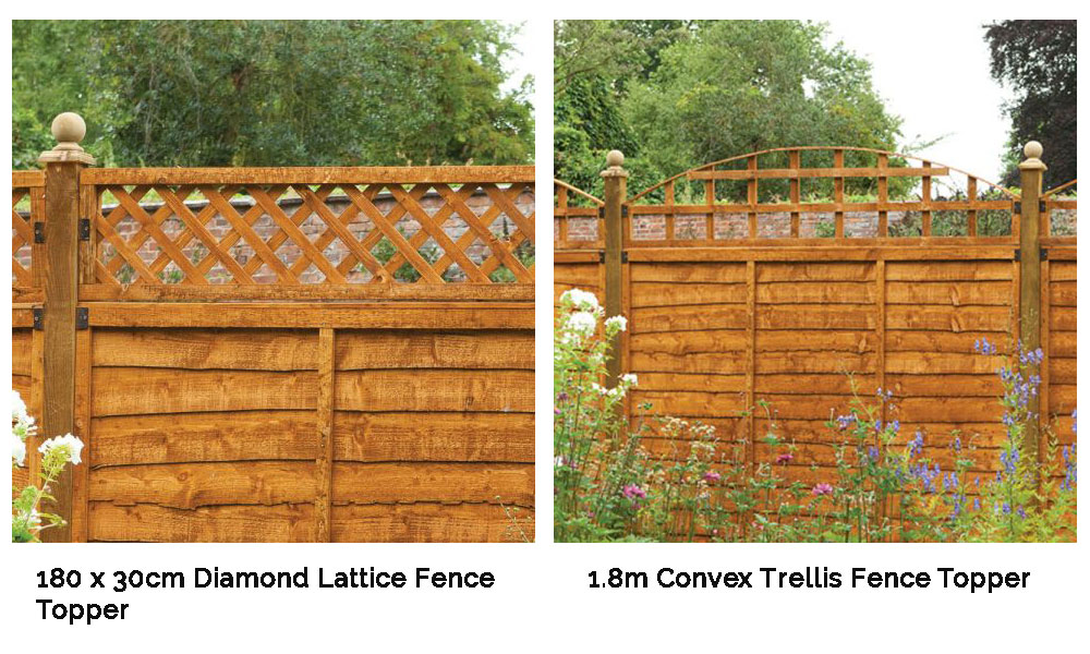 Trellis toppers