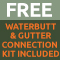 Free Waterbutt and Gutter Connection Kit